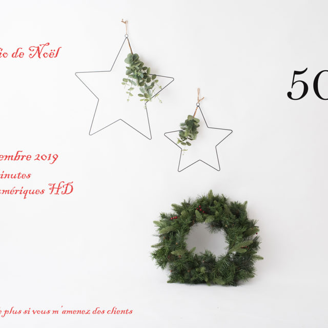 Mini studio de Noël ;-)